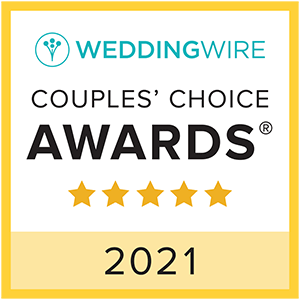 WeddingWire Couple's Choice Award